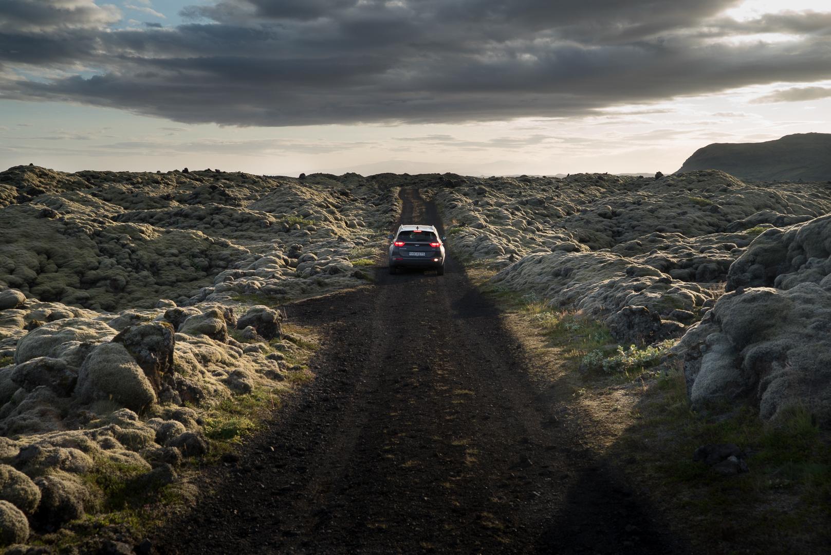 Kia Sportage Islande
