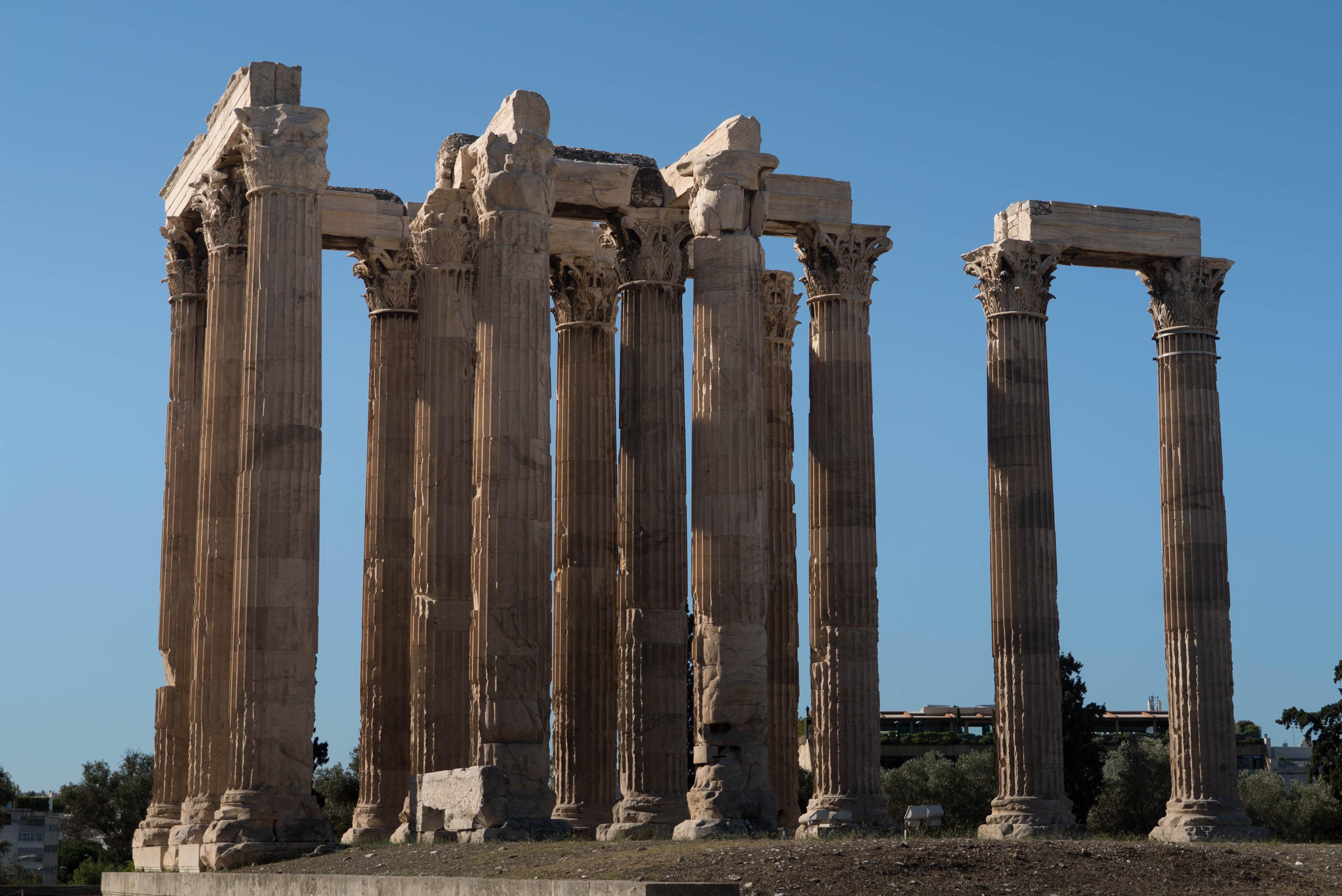 Olympiéion Athènes 2 jours