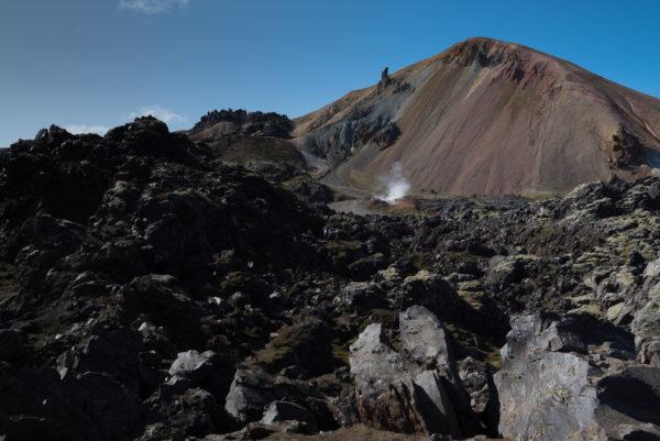 Granenagil Landmannalaugar Islande