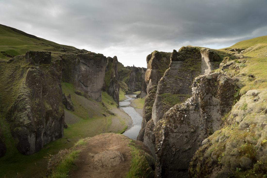 Fjadrargljufur road trip Islande