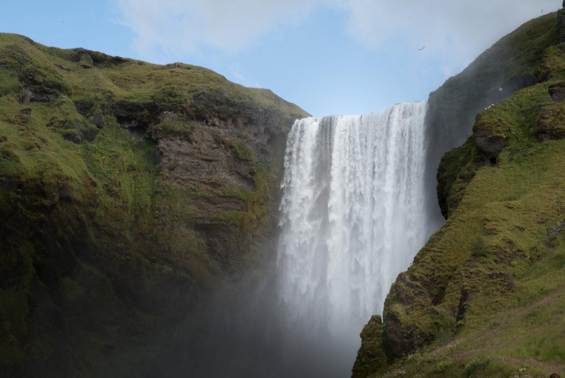 Skogafoss road trip Islande