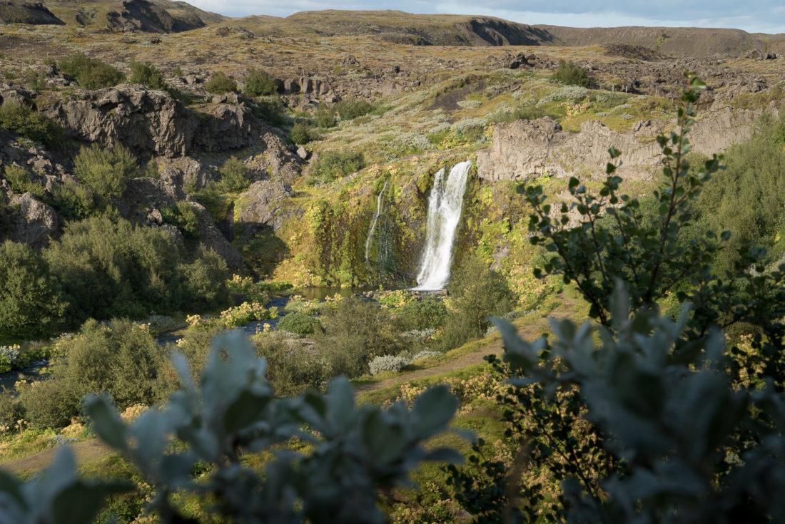 Gjain road trip Islande
