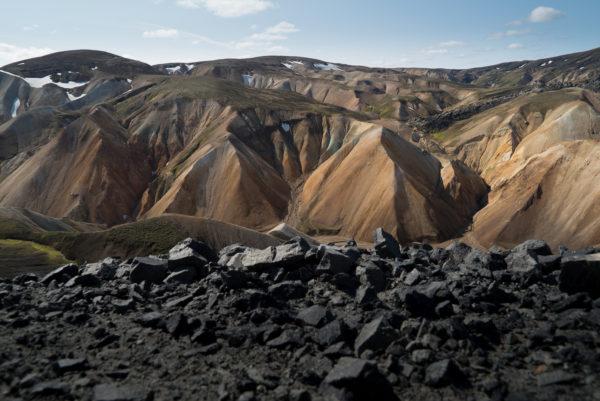 Blahnukur Landmannalaugar Islande