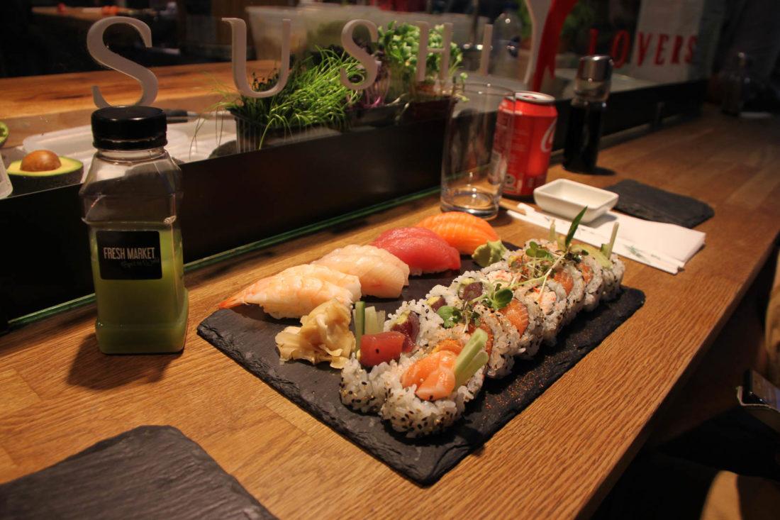 sushi copenhague Torvehallerne