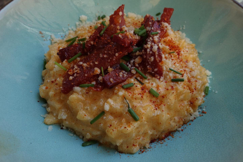 Risotto Chorizo Parmesan