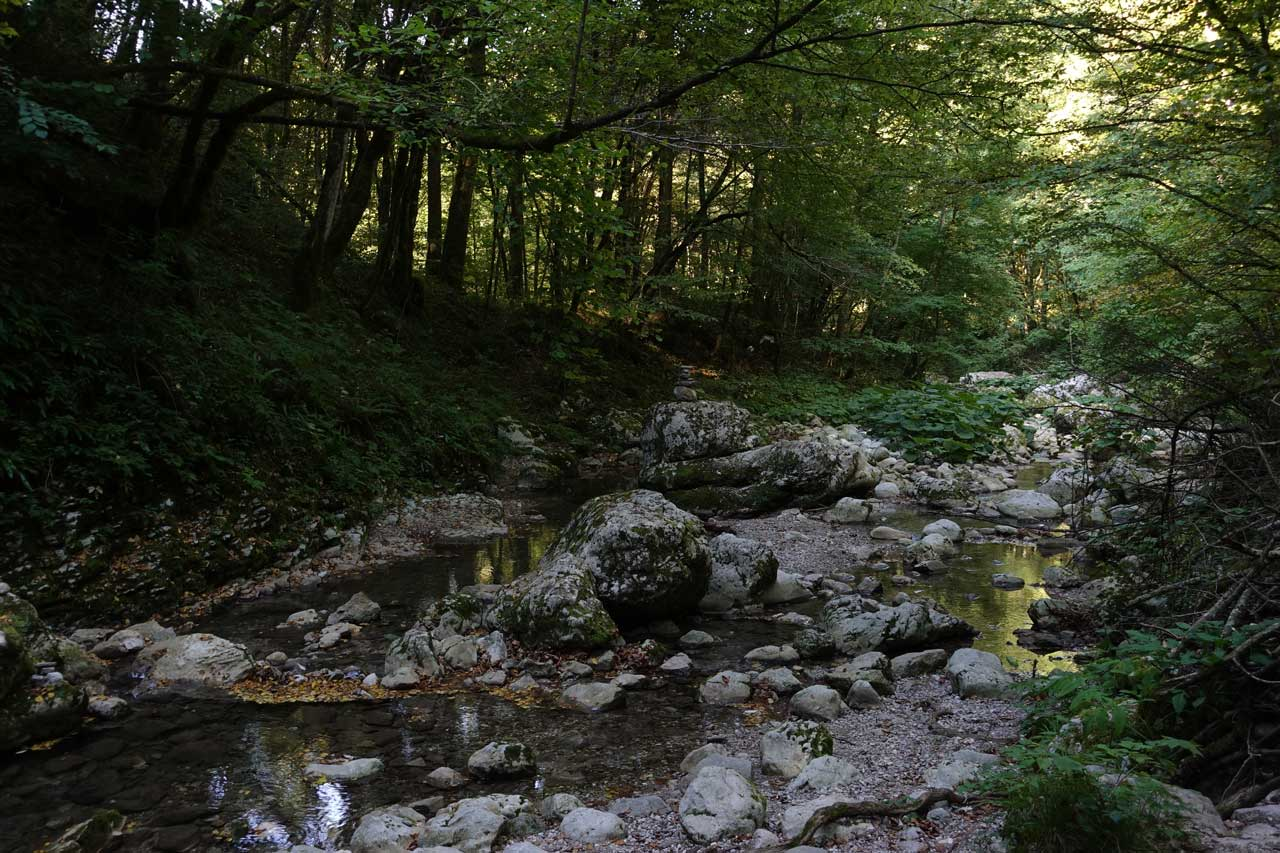 La cascade de Kozjak