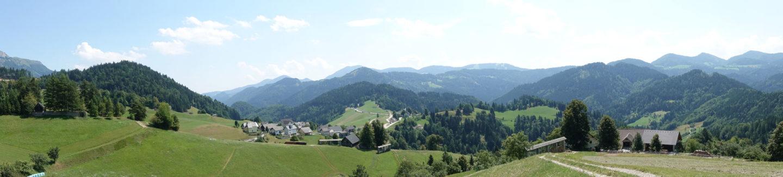 Itinéraire pour une semaine en Slovénie