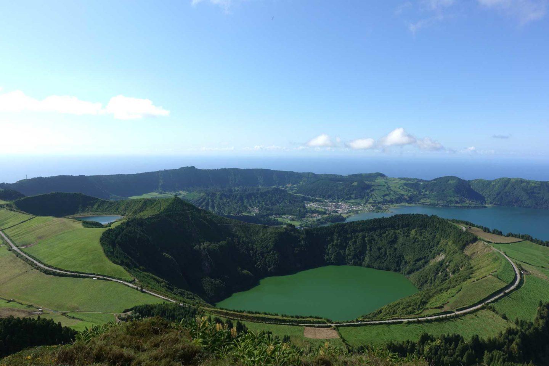Programme pour une semaine aux Açores (Sao Miguel) Setes Citades