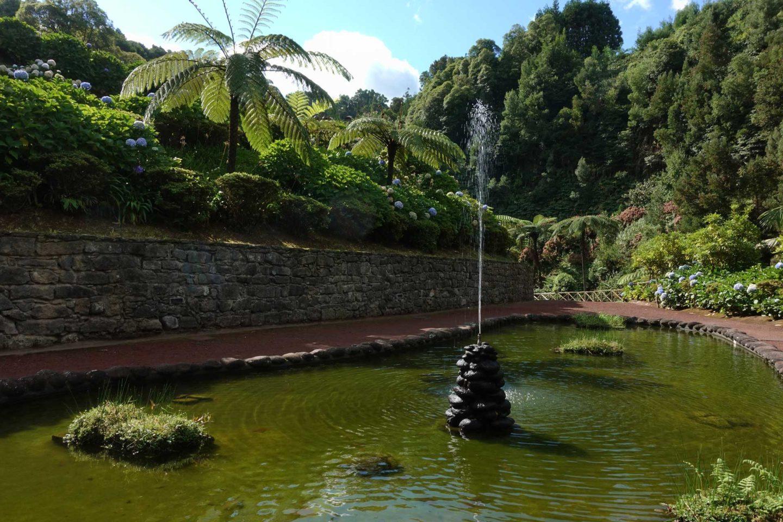 rogramme pour une semaine aux Açores (Sao Miguel) ribeira dos caldeiroes