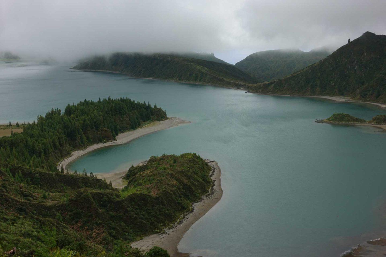 Programme pour une semaine aux Açores (Sao Miguel) Lagoa do Fogo