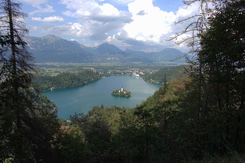 Lac de Bled Velika Osojnica