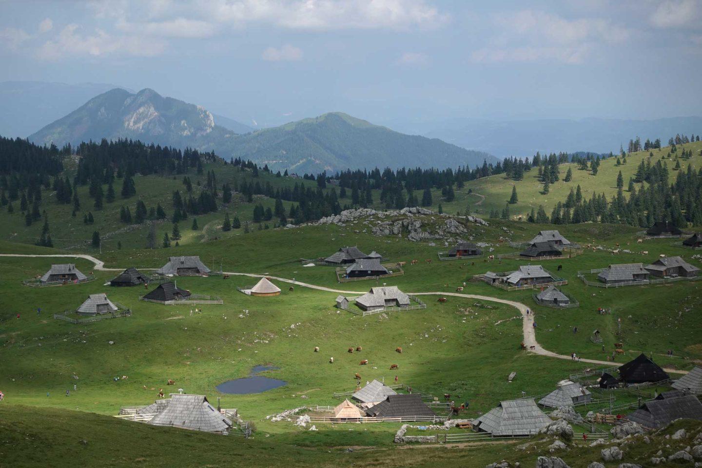 Velika Planina Alpes Juliennes