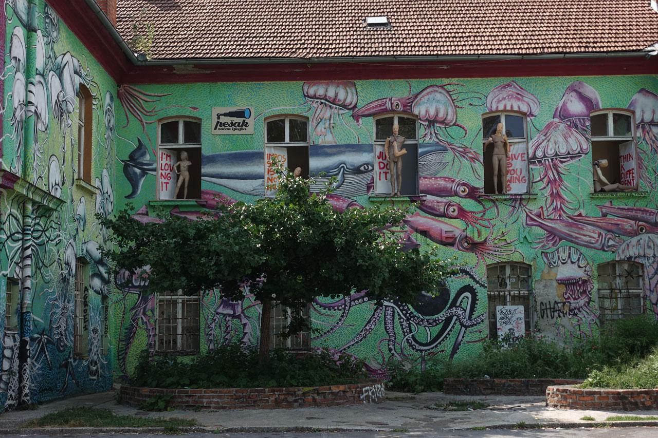 Ljubljana Meltelkova un jour