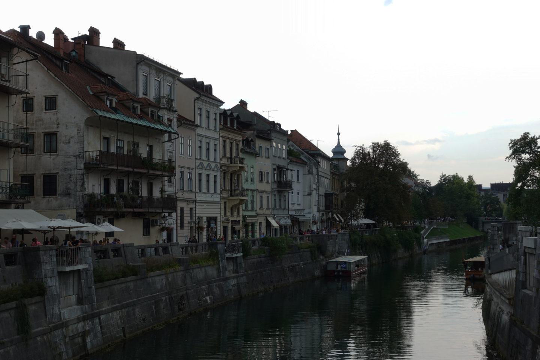 Ljubljanica Ljubljana un jour