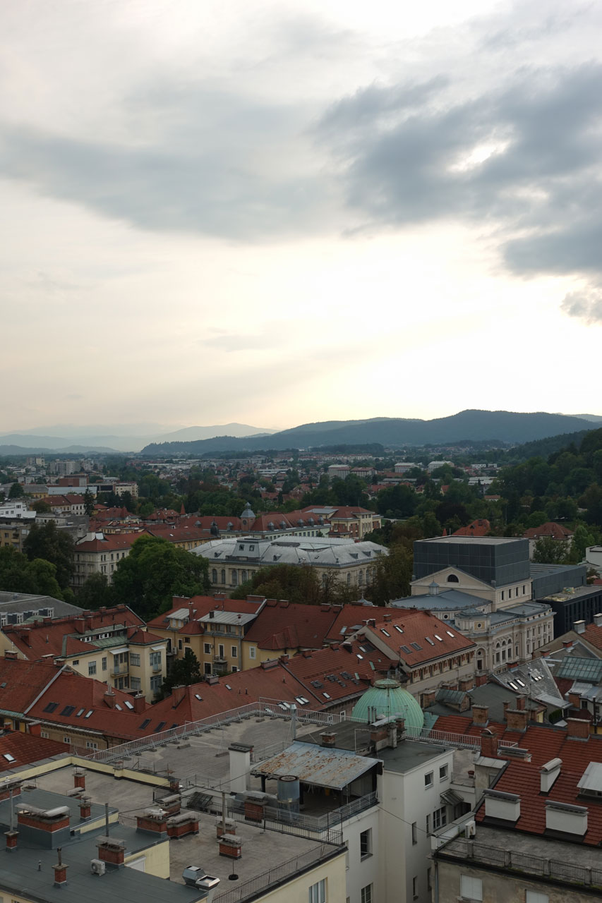 Rooftop Ljubljana un jour