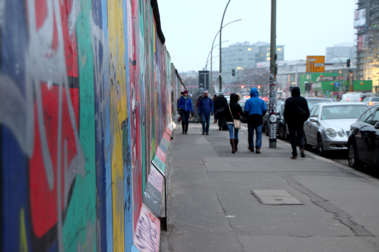 Le Mur de Berlin East Side Gallery