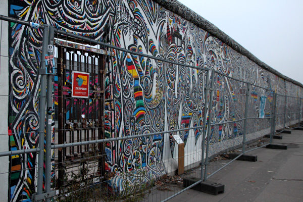 Le Mur de Berlin - East Side Gallery
