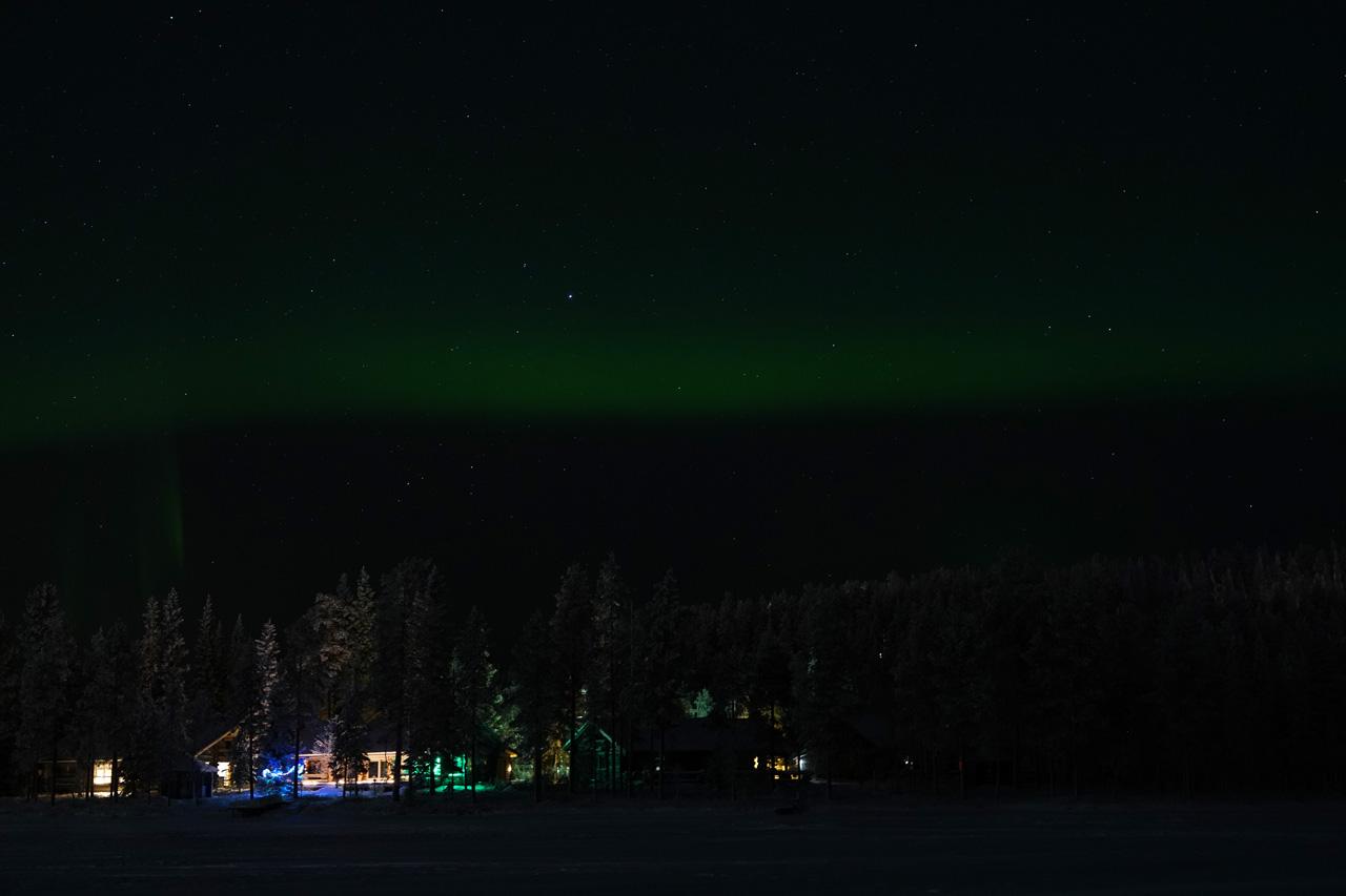 Laponie Finlandaise Décembre Aurores boréales