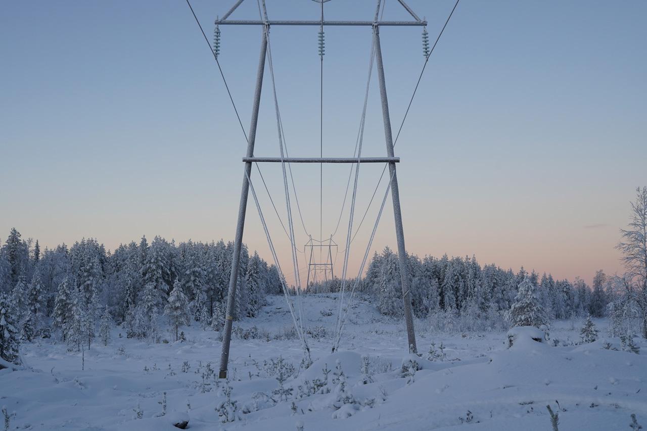 Laponie Finlandaise Décembre Motoneige