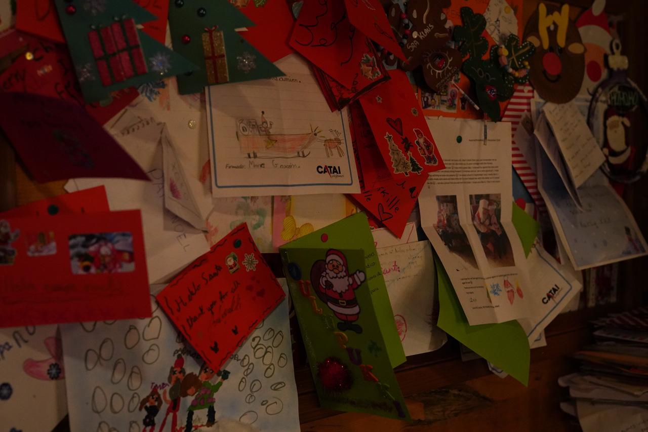 Laponie Finlandaise Décembre Maison du père noël