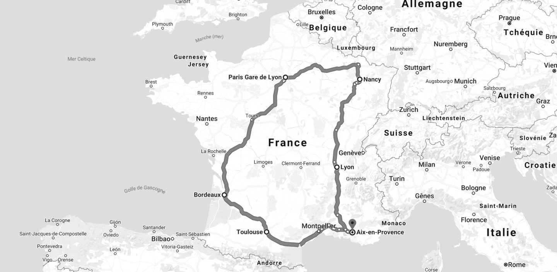 Tour de France TGVmax
