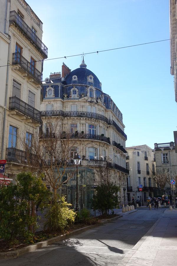 vieille ville Montpellier