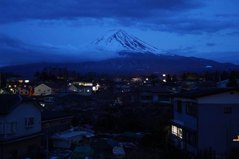 vue Mont Fuji Kawaguchiko