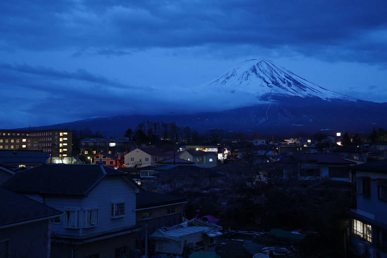 logement Airbnb vue Mont Fuji région 5 lacs