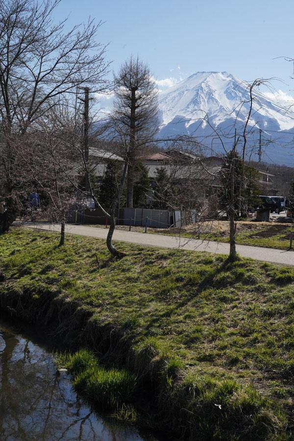 région 5 lacs vues mont fuji