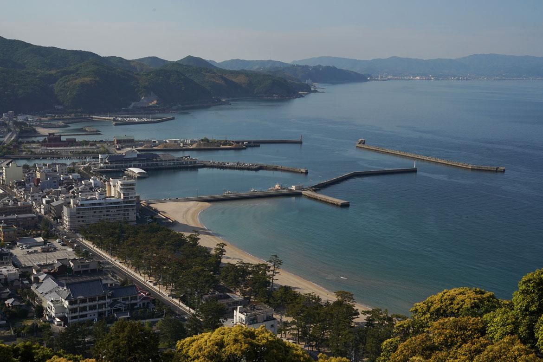 château de Sumoto vue Awaji