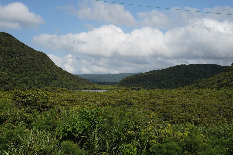 vue sur Iriomote Okinawa