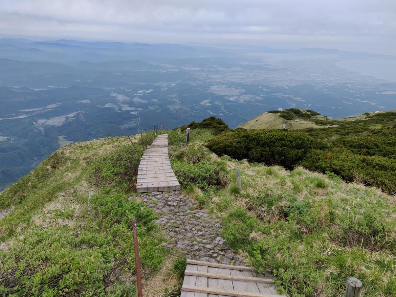 Mont Daisen sommet