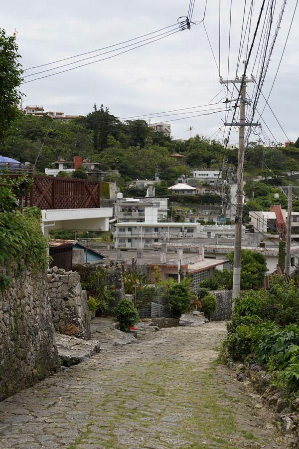 Kinjo Stone Road Naha Okinawa