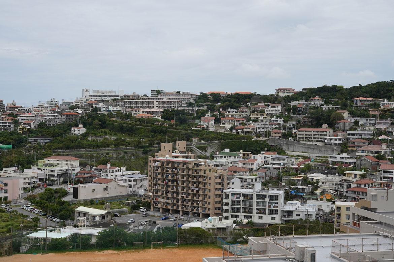 vue sur Naha Okinawa