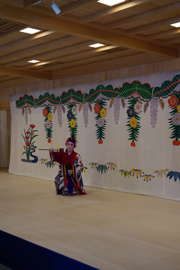 danses traditionnelles okinawa