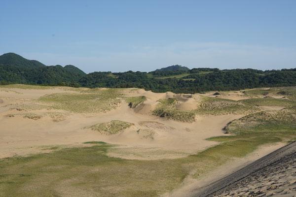 dunes de sable Tottori