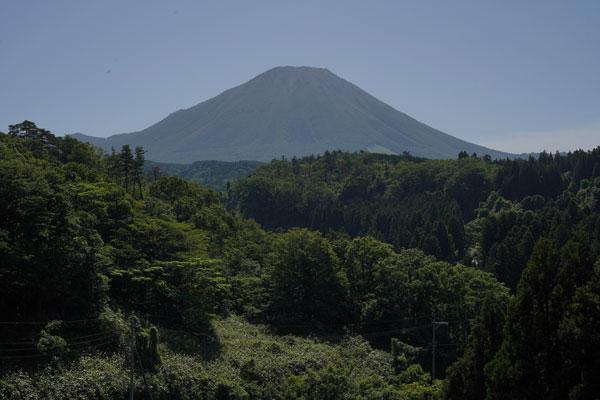 meilleures vues Mont Daisen préfecture Tottori