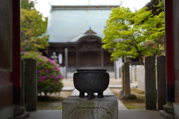 temple Senkoji awaji