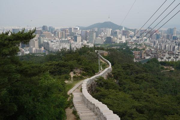 inwangsan séoul randonnée
