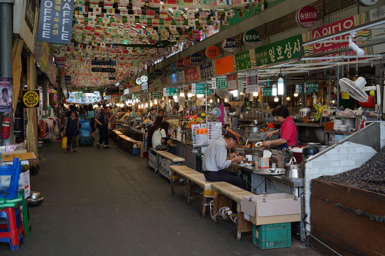 séoul Gwangjang Market