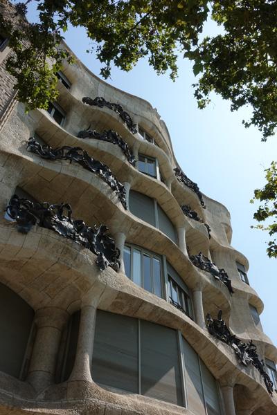 Casa Milà La Pedrera Promenade de Gràcia