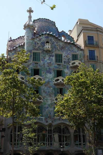 Casa Batlló Promenade de Gràcia