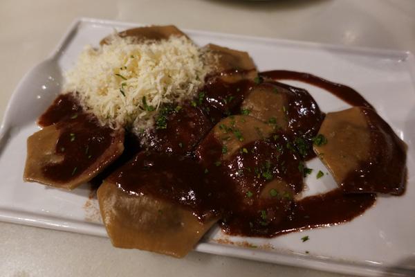 raviolis cèpes parmesan barcelone