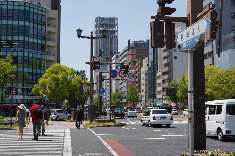 passage piéton à Hiroshima