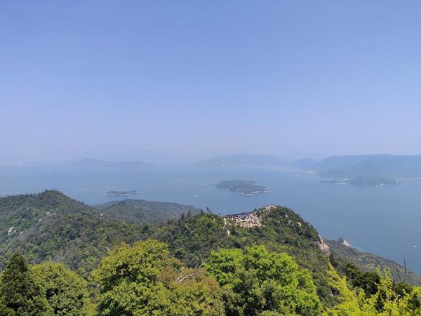 Miyajima Mont Misen sommet