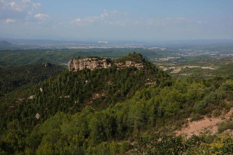 Montserrat vue depuis la route