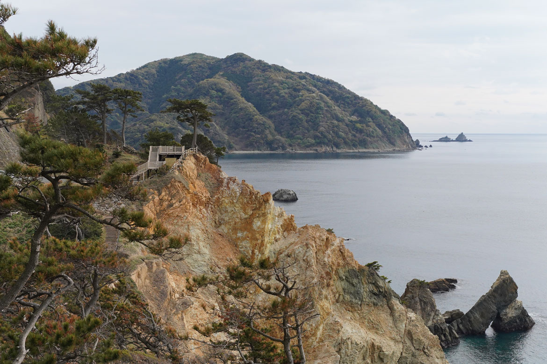 Péninsule d'Izu côte Koganezaki