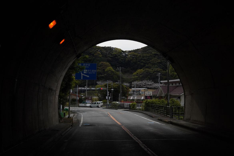 Péninsule d'Izu route