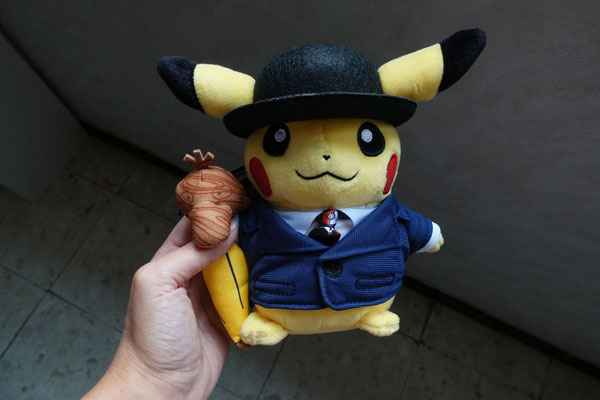 Pokémon Center Londres Pikachu exclusif