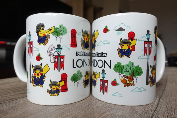 Pokémon Center Londres tasse exclusive